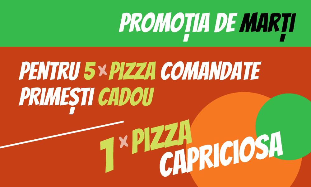 Promoție Pizza Sabatini
