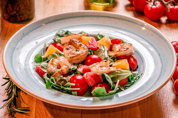 Salată Fresca cu creveți