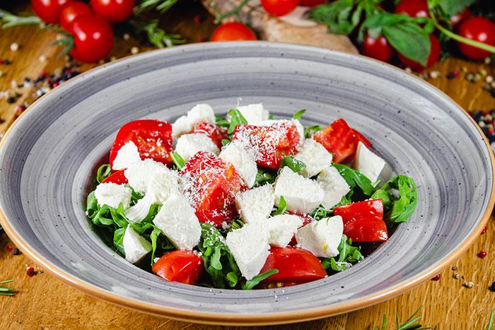 Salată rucola & mozzarella