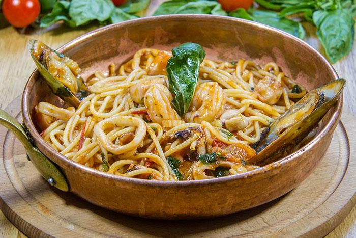 Spaghetti fructe de mare